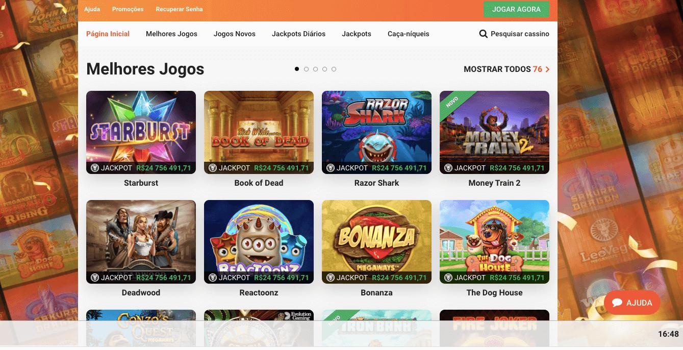LeoVegasvBr Casino