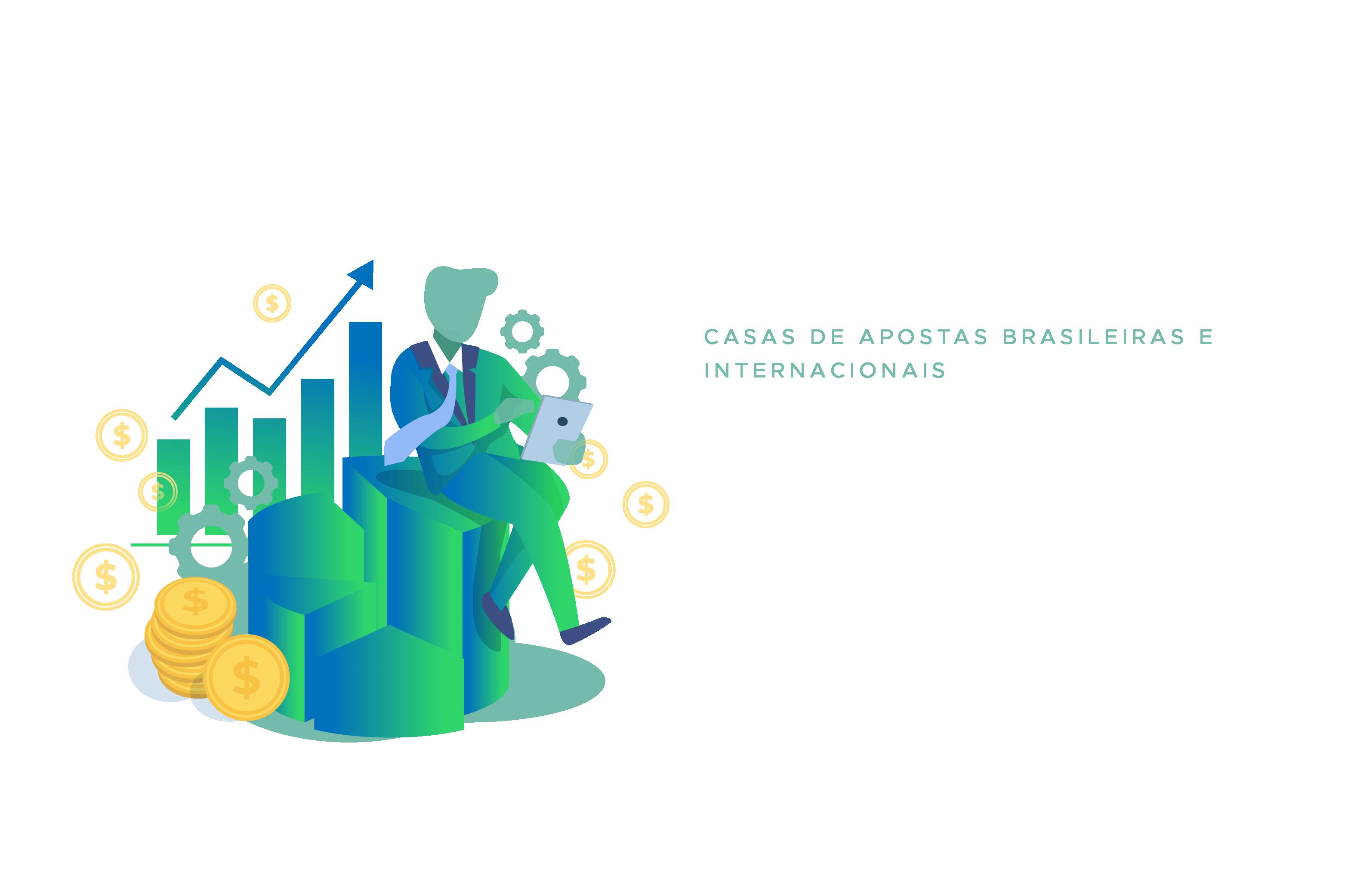 Casas de apostas brasileiras e internacionais