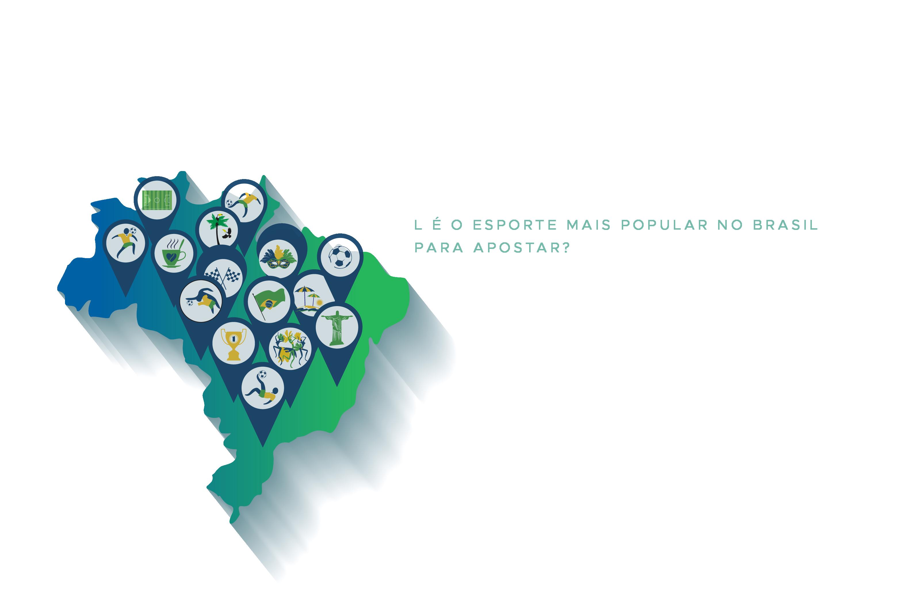esporte mais popular no Brasil para apostar